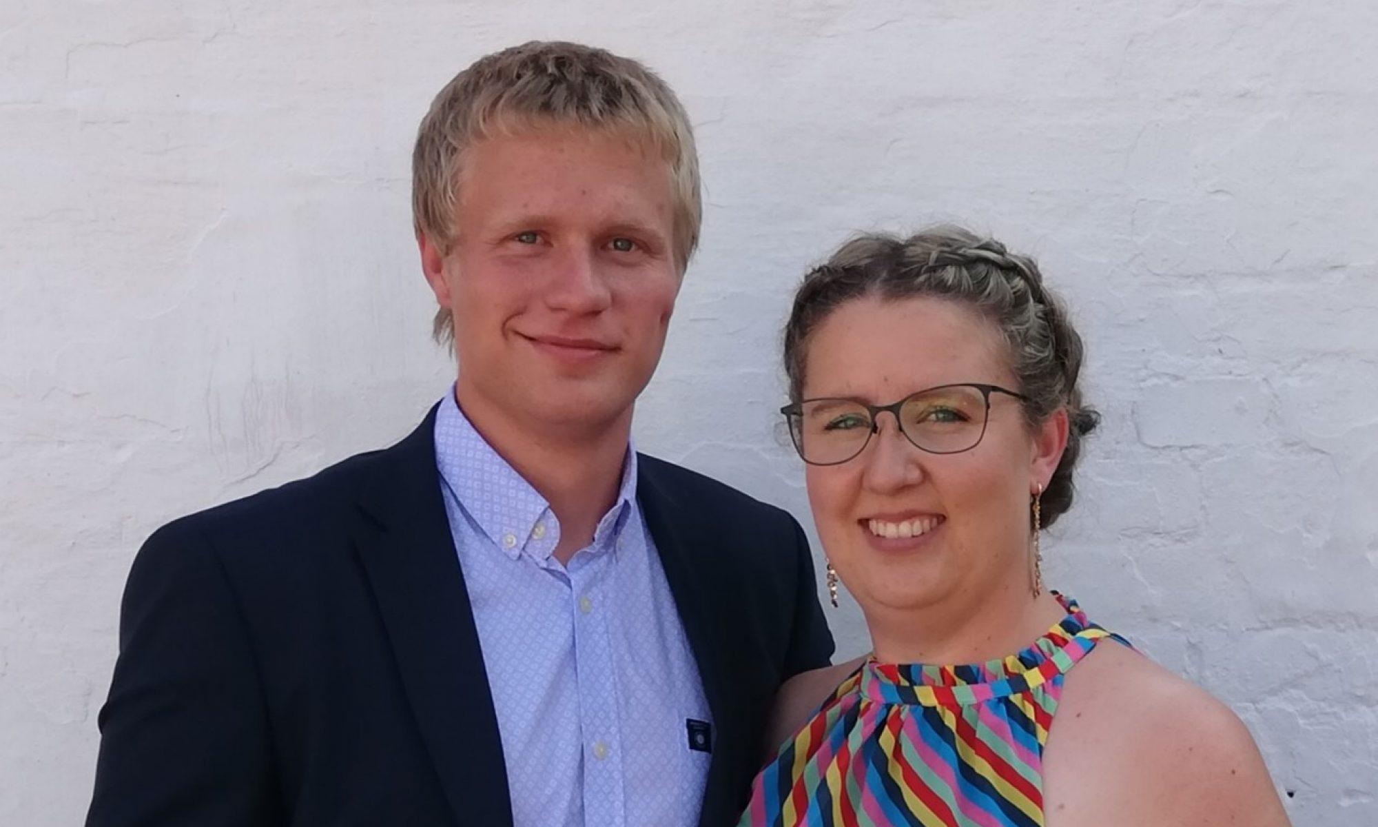 Lasse og Line bryllup